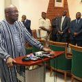 Le Président du Faso dresse un bilan positif de son séjour au Sénégal et en Suisse
