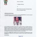 Communiqué nécrologique :  décès de M. Bertrand Zida