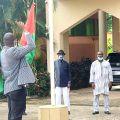 Reprise de la Montée des couleurs à l'Ambassade, Mission Permanente du Burkina Faso à Abuja