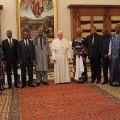 Le Président du Faso reçu en audience au Vatican par le Pape François