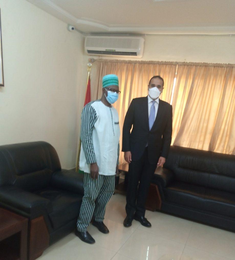 Audience entre les Ambassadeurs du Burkina Faso et des Emirats Arabes Unis